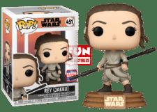 Funko Pop! Star Wars: Rey Jakku #451 (Summer Convention)