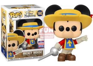 Funko Pop! Three Musketeers: Mickey Mouse #1042 (Summer Convention)