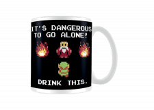 Zelda Mug: It's Dangerous to go Alone
