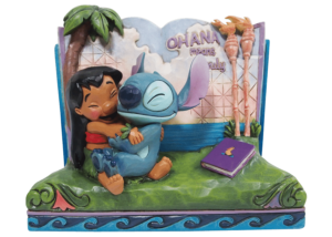 Twenty years ago, Lilo & Stitch awarded audiences with an out of this world tale of friendship that hit us all close to home. In this piece, Lilo and Stitch hug within a story book, allowing us all to learn a lesson of what family really means.