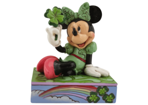 """Disney Traditions: Minnie Mouse """"Shamrock Wishes"""""""