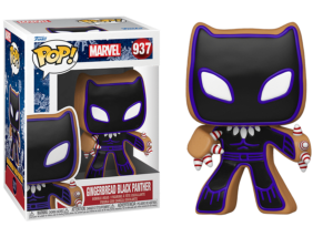 Funko Pop! Marvel Holiday: Gingerbread Black Panther #937