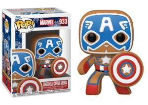 Funko Pop! Marvel Holiday: Gingerbread Captain America #933