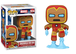 Funko Pop! Marvel Holiday: Gingerbread Iron Man #934
