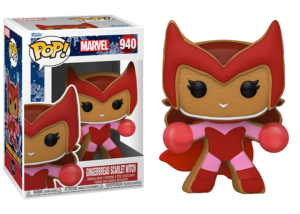 Funko Pop! Marvel Holiday: Gingerbread Scarlet Witch #940