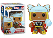 Funko Pop! Marvel Holiday: Gingerbread Thor #938