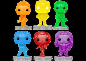 Funko Pop! Marvel Infinity Saga: 6 Pop Set