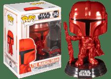 Funko Pop! The Mandalorian: (Red Chrome) #345