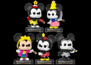 Funko Pop! Walt Disney Archives: Minnie (5 Pop Set)