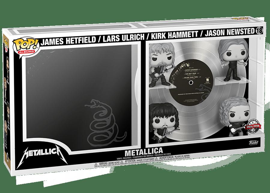 Funko Pop! Rocks: Metallica - Black Album #18