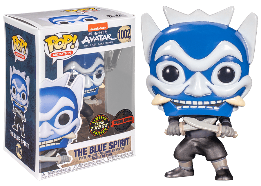 Funko Pop! The Last Airbender: The Blue Spirit #1002