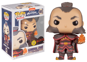 Funko Pop! The Last Airbender: Admiral Zhao with Fireball #1001