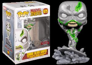 Funko Pop! Marvel Zombies: Zombie Silver Surfer #675
