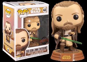 Funko Pop! Star Wars: Qui-Gon Jinn (Tatooine) #422
