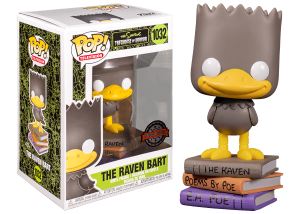 Funko Pop! The Simpsons: The Raven Bart #1032